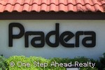 Pradera community sign